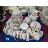 Royal Stafford 'Honesty' Coffee Service, of fifteen pieces, Duchess tea ware.