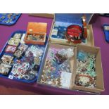 A Mixed Lot of Assorted Costume Jewellery, including bead necklaces, imitation pearls, earrings,