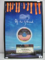 Paul McCartney - Off The Ground Platinum Award, for the album sales in Mexico.