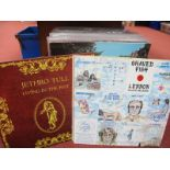 Over Fifty LP's, titles include Jethro Tull - Living In The Past, Santana - Zebop, The Beatles -