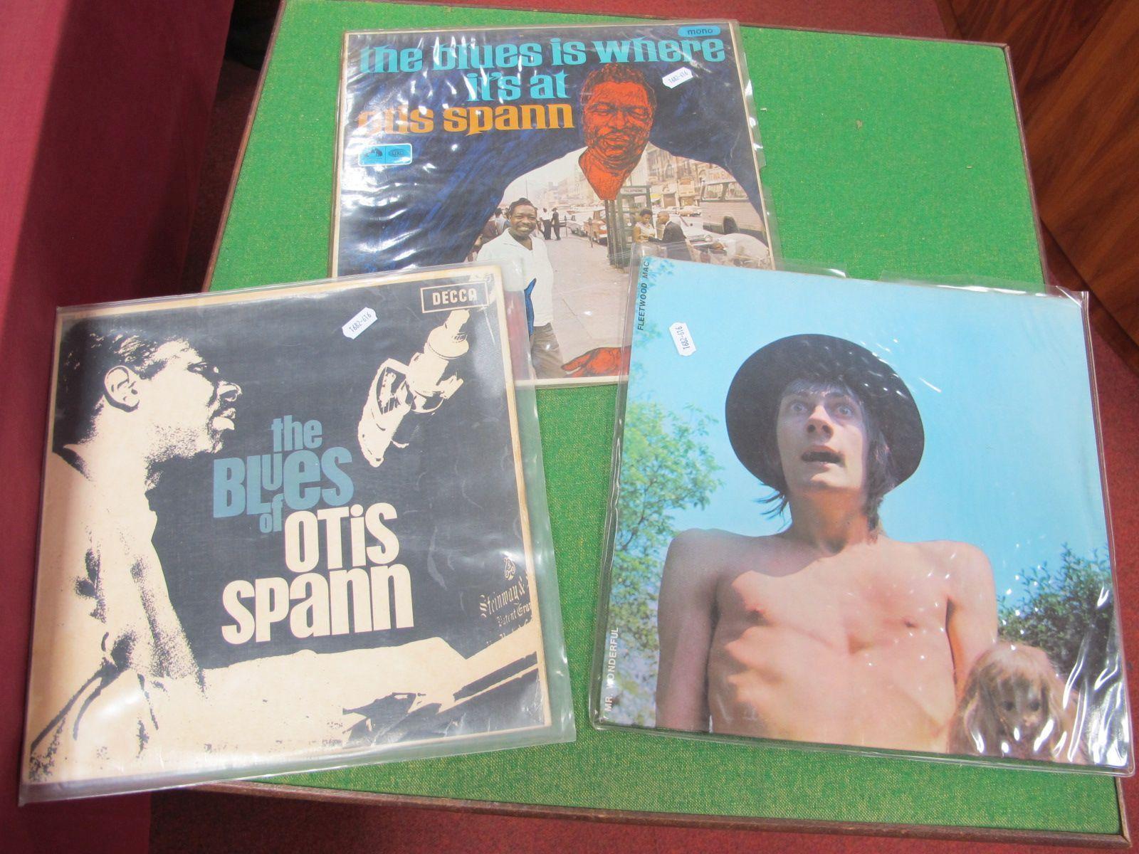 Three Very Noteworthy Blues L.P's, Fleetwood Mac - Mr Wonderful (7-63205) 1968, Blue Horizon