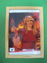 Madonna Signed (Unverified) Framed Photograph, measuring 250mm x 200mm.