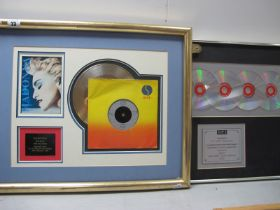 Robbie Williams - Sing When You're Winning Award, presented to EMI Music Publishing for sales in