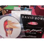 """David Bowie 12"""" Singles, seventeen singles to include Rebel Never Gets Old (picture disc), The"""