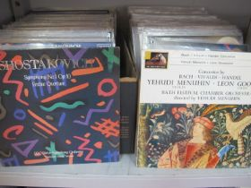 Classical Music L.P's, approximately one hundred and eighty albums in this very well cared for