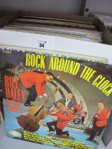 Over Seventy LP's Mainly From The 50's and 60's, highlights include Detroit Spinners - Best of,