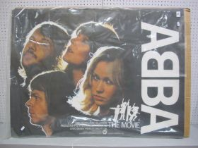 """Abba The Movie Promotional Poster, measuring 40"""" x 30""""."""