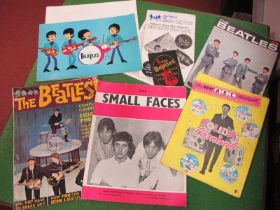 Beatles Fan Club Releases and Others, this lot includes an unused patch sent out by the fan club,