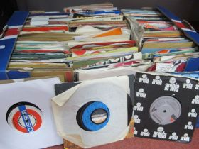 """A Large Quantity of 7"""" Singles, an eclectic mix with artists such as Coldplay, Free, Style"""