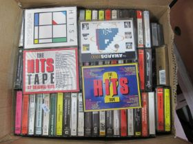 Over One Hundred and Thirty Audio Cassettes, to include Stevie Nicks - The Wild Heart, Tomita -