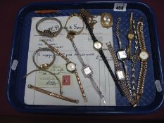 Assorted Ladies Wristwatches, including Rotary, River Island, Accurist, Smiths Empire, vintage Ilona