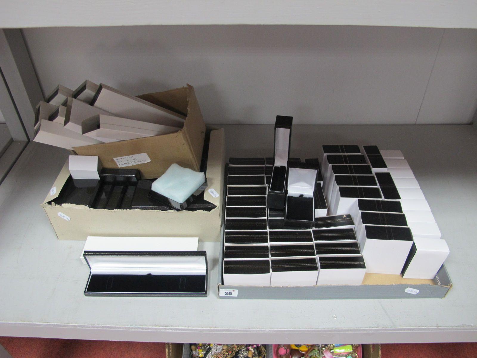 Assorted Jewellery Boxes, (empty).