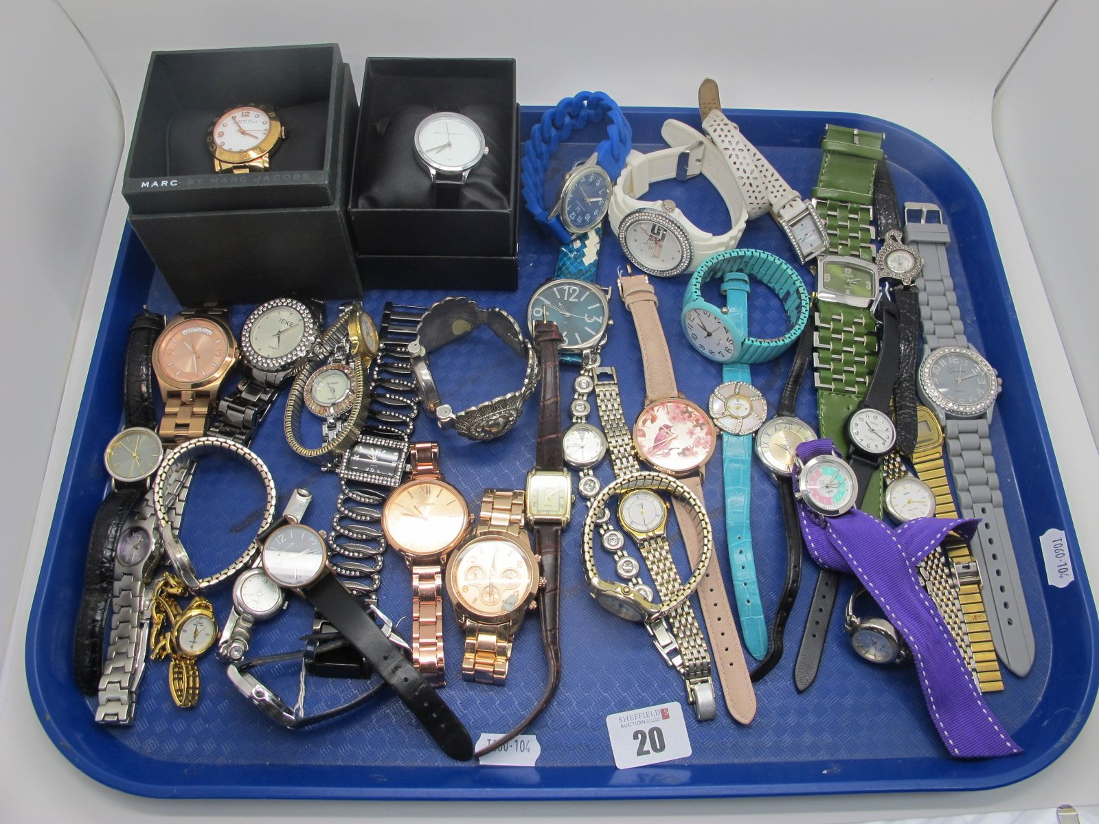Marc by Marc Jacobs, French Connection, Guess, Orus, Strada, Casio and other modern ladies