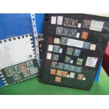 France Collection on Hagner Leaves, including stamps from 1850-1950 in mostly fine used condition,