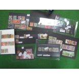 A Collection of Early Commonwealth Stamps, on stockcards and in a small stock book, including