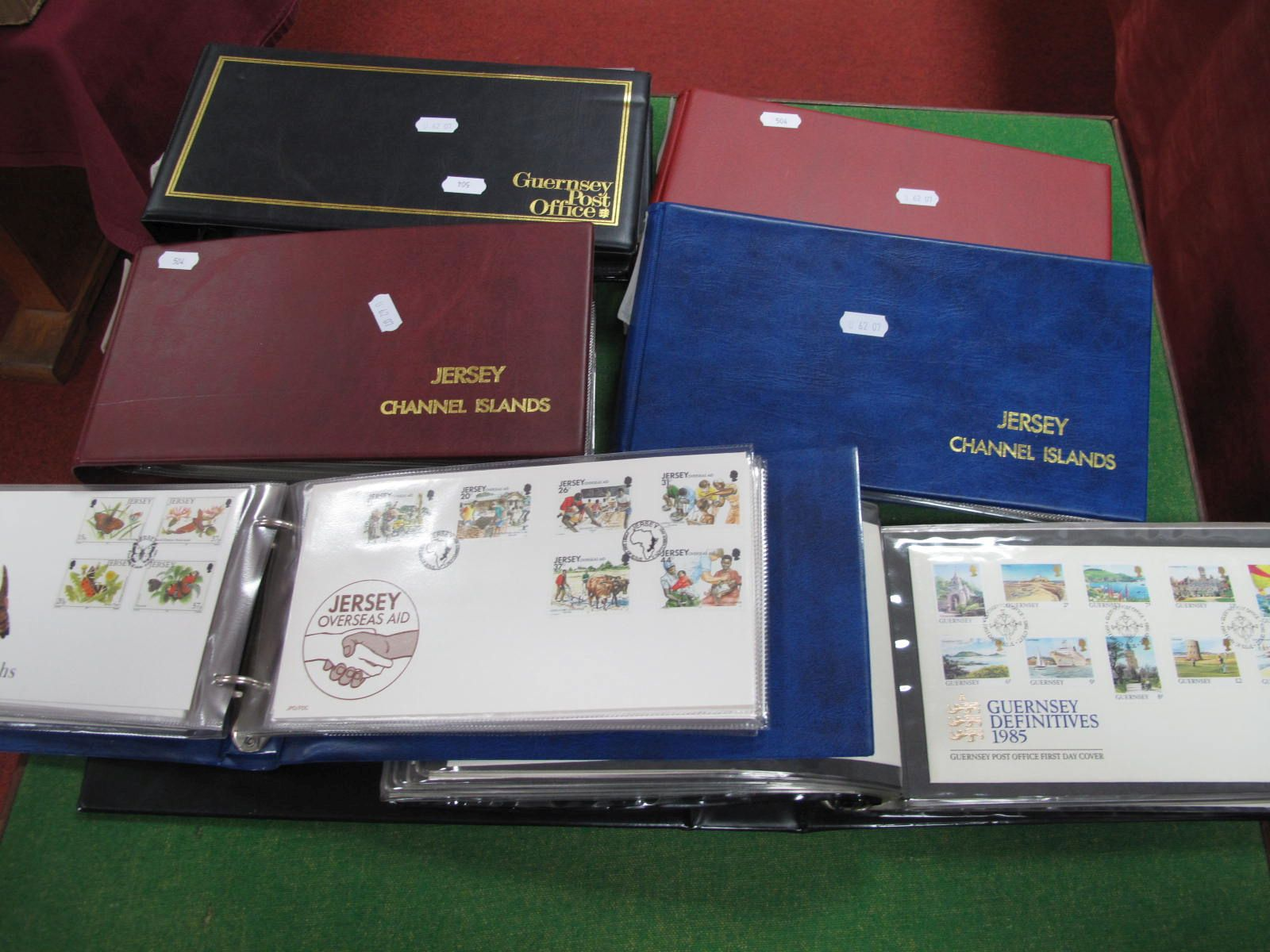 Channel Island Collection of FDC's, mainly 1980's - 90's, booklets and miniature sheets of Jersey