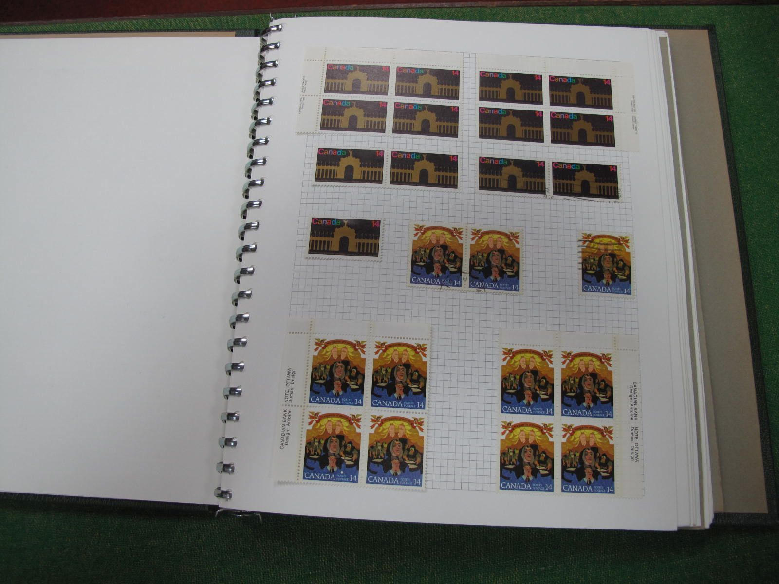A G.B and Commonwealth Stamp Collection, housed in a twenty two ring binder, includes G.B from Queen