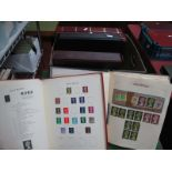 Five Four Ring Binders of Mainly Used GB and Commonwealth Stamps, some fine used, includes