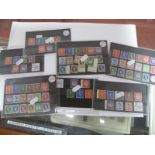 A G.B Wilding Collection on Stock Cards, mainly mint includes, 1952 Set unmounted, 1955 Set, 1958 SG