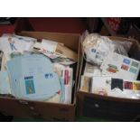 Two Large Boxes of GB and World Covers, mainly modern with GB, Belgium, France, Germany,