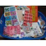 An Accumulation of Mainly Used G.B Stamps, in an album and loose, includes modern G.B Decimal