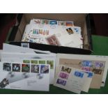 GB First Day Cover Collection from 1946 - 1990's, over seventy covers including illustrated