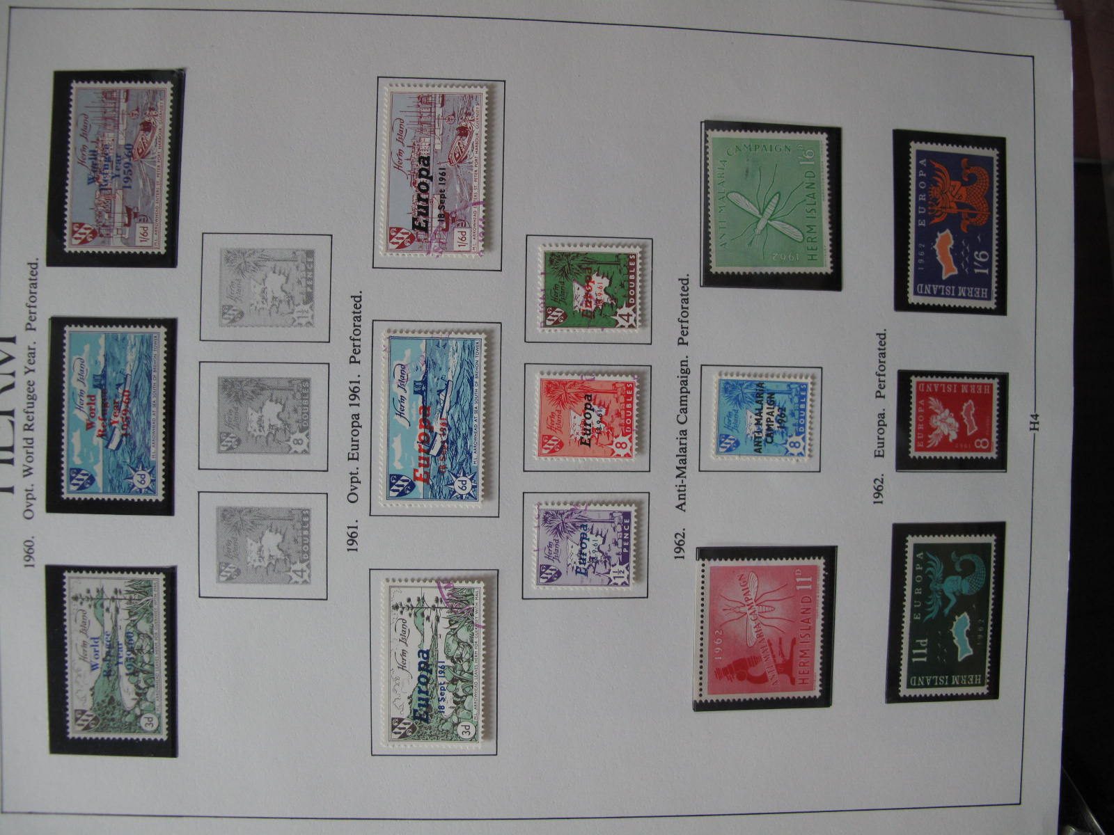 Herm and Small Channel Island Collection of Mint, from 1949 to 1966, Sark from 1962 to 1967, - Image 3 of 5