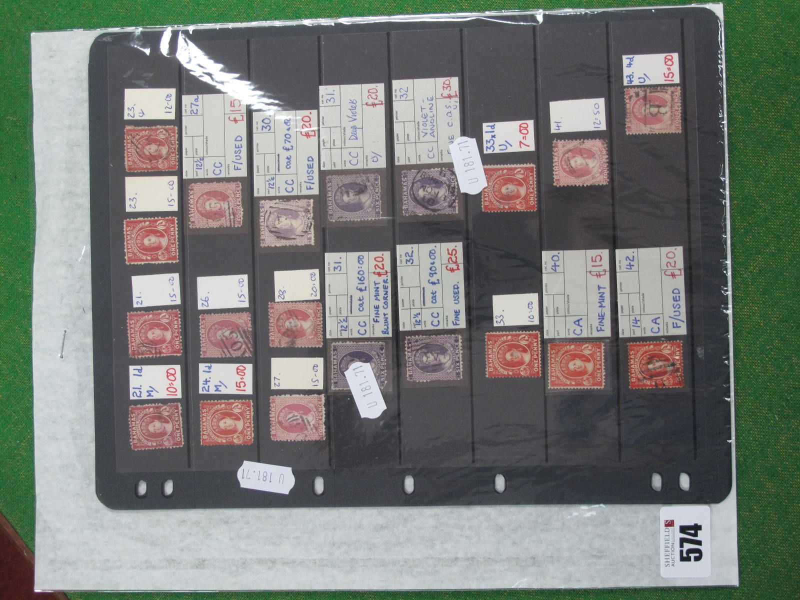 A Bahamas and Grenada Collection of Queen Victoria Stamps, mint and used Bahamas includes SG21,