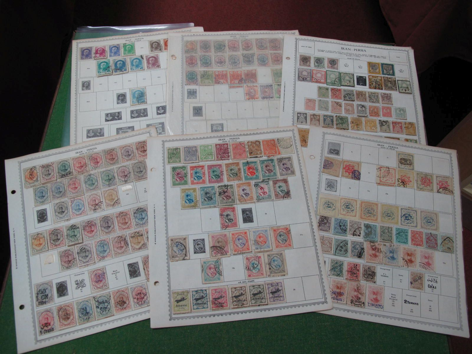 Iran Collection of Mint and Used Stamps, from earlier material to around 1935, good material for