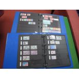 A French Collection of Stamps, mint and used from 1927 to 1999 in two four ring binders, includes