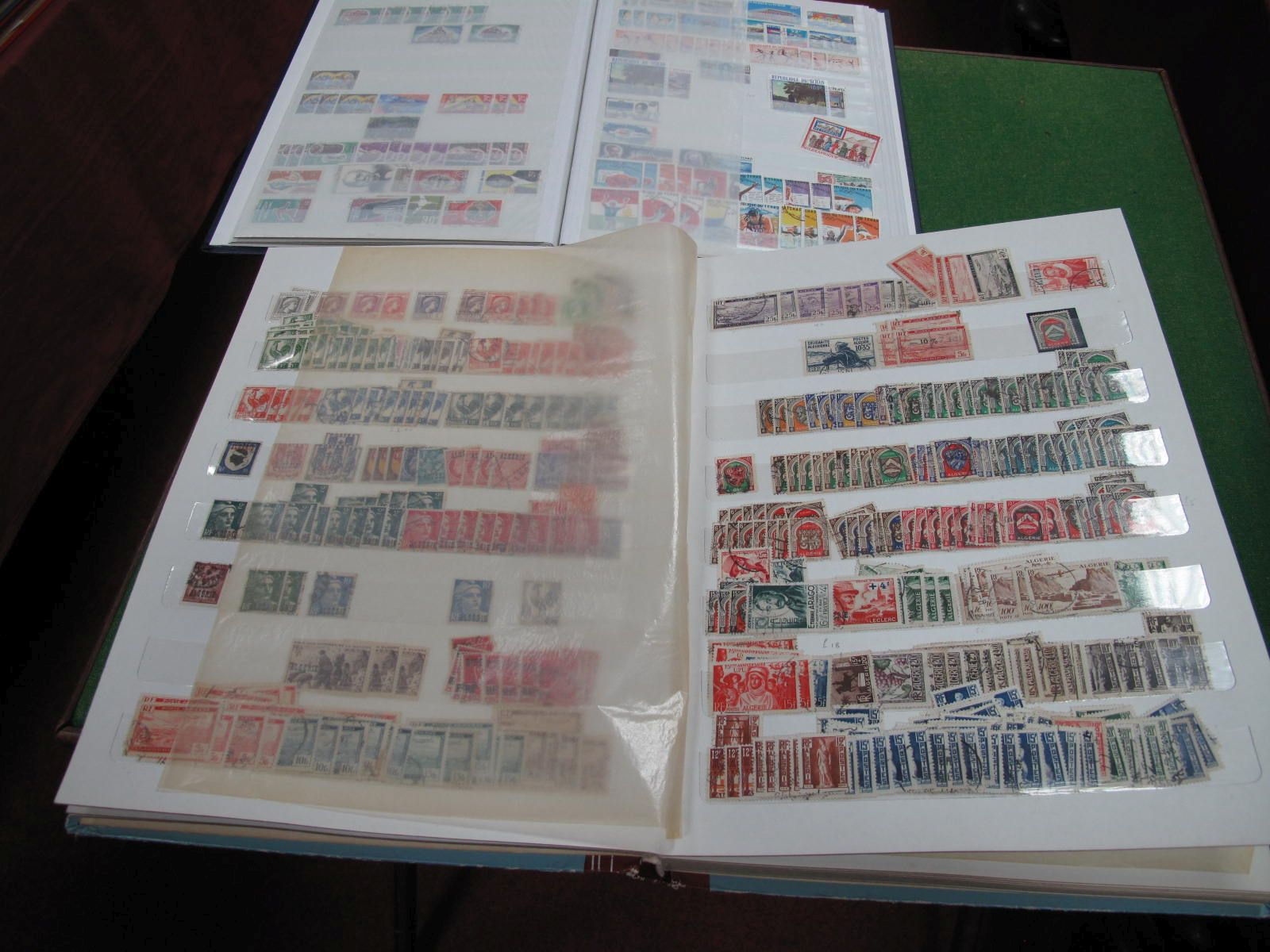 A Collection of Algeria and Morocco Stamps, mainly used, from early French Colonial period and a
