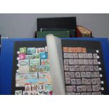 Commonwealth Mint and Manly Used Stamps, in eight binders/albums, most Countries represented QV to