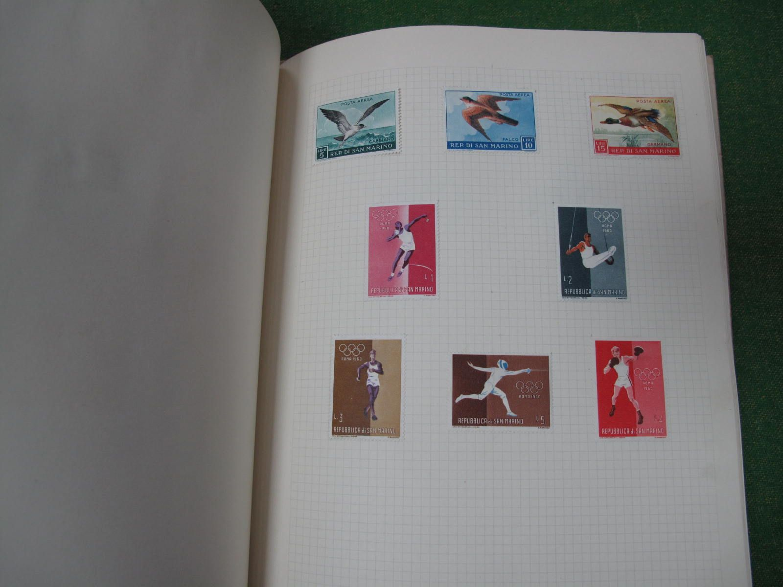 A French Collection of stamps, mixed mint and fine used, from 1850 to 1950, well presented in a