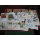 Large Box of Europe Stamps and Documents, includes France 1981 - 85 philatelic documents probably