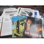 U.K Promotional Cinema Pressbooks, including Doctor in The House, Four Weddings and a Funeral, Die