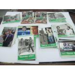 T.V The Professionals, postcards, large quantity.