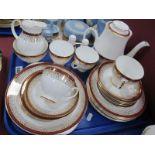 Grafton 'Majestic' Table Ware, of twenty nine pieces, including coffee pot.