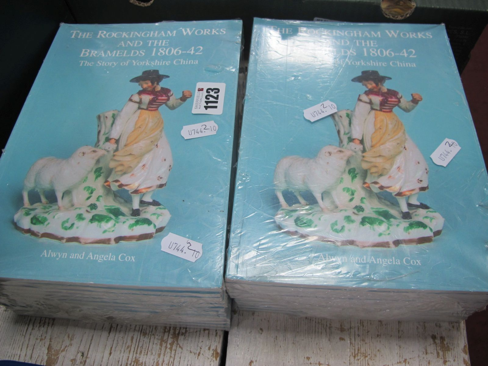 Alwyn and Angela Cox, The Rockingham Works and The Bramelds 1806-42, twenty four editions.