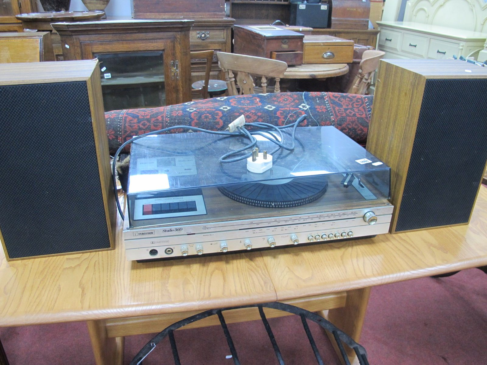 A Ferguson Studio 30D Music Centre. (All untested, sold for parts/spares only)