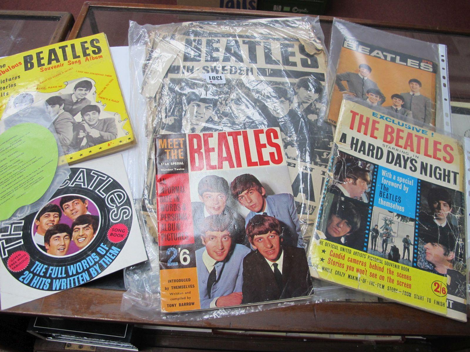 The Beatles - 1960's magazines, newspaper scraps, etc.