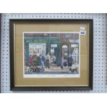 George Cunningham, 'Harry Metcalfe's', limited edition print 235/250, signed lower right, 24 x
