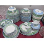 Wedgwood Home Watercolour Table Ware, of approximately eight seven pieces.