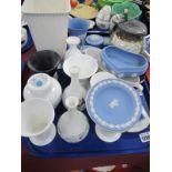 Wedgwood Ceramics, including Jasper, 'Hathaway Rose', 'Ice Rose', 'Angela':- One Tray.