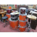 Drum Kit - Sonor Force 2003 x 6, Black Panther Gretsch, Session Pro and Stage Drums in varying
