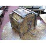 A Pine Table Top Butter maker, circa 1900, 35.5cm.