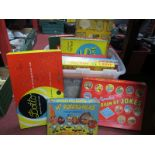 Waddingtons Cluedo, Scrabble, Mr Potato Head, and other board games:- One Box.