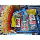 Vintage Woolworth Christmas Decorations, crepe paper etc:- One Box.