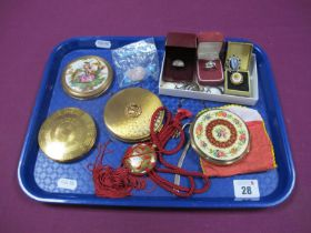 """Yardley and Other Powder Compacts, marcasite and other dress rings, """"925"""" ring, Chinese style"""