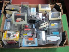 Thirty Two Items of Cased 'OO' Scale Vehicles, by Oxford, Classix, Corgi, etc, (fair to good).