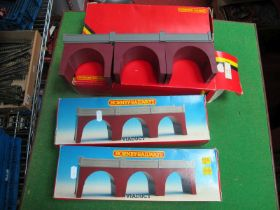 Four Hornby 'OO'/4mm Ref No R180 Railway Viaducts, boxed (good/good boxes)
